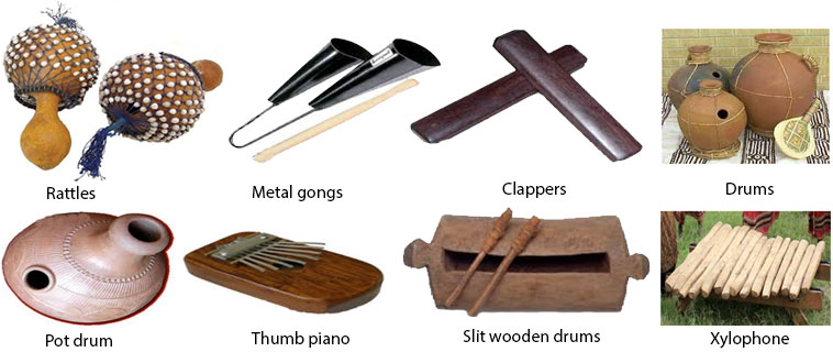 Classifications of African musical instruments