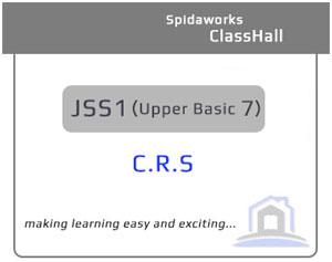 Christian Religious Studies (C.R.S) - JSS1