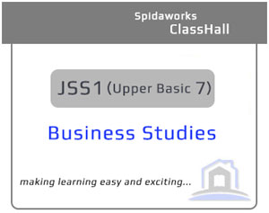 Business Studies - JSS1
