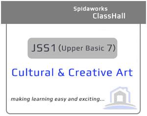 Cultural and Creative Art - JSS1
