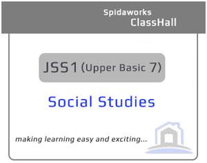 Social Studies - JSS1