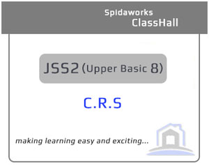 Christian Religious Studies (C.R.S) - JSS2