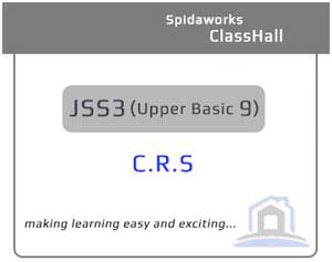 Christian Religious Studies (C.R.S) - JSS3