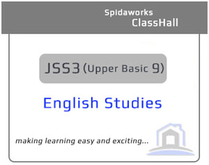 English Studies - JSS3