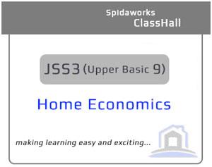 Home Economics - JSS3