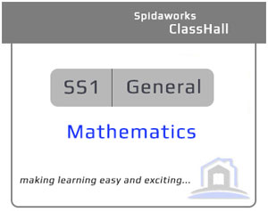 General Mathematics - SS1