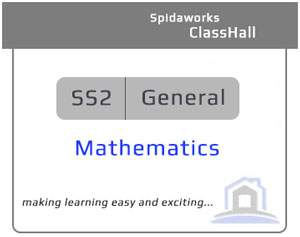 General Mathematics - SS2