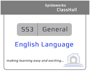 English Language - SS3