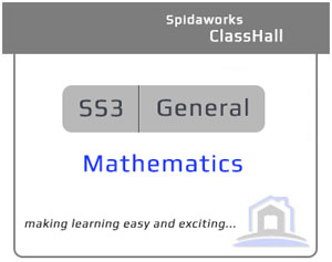 General Mathematics - SS3