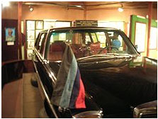 military rule in Nigeria car in which Murtala Muhammed was assassnated
