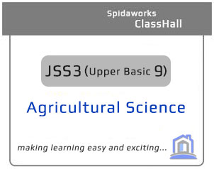 JSS3 Agricultural Science